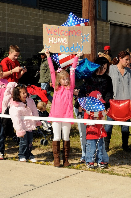 ...Nothing compares with welcoming a service member home...
