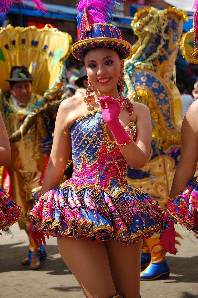 Morenada La Paz Bolivia Más