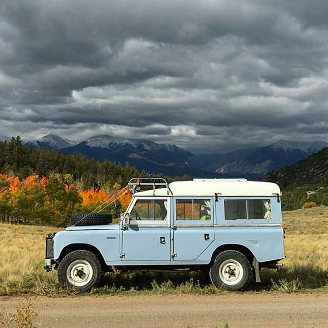 Is your #Landrover #Series ready to weather the storm?