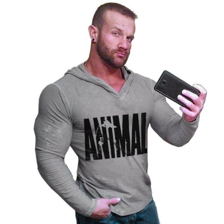 2016 Autumn Winter Bodybuilding Hoodies Men Animal Gyms Sweatshirts Long Sleeve Cotton Sportwear Fitness Pullover Muscle Tops m3 //Price: $843.44 & FREE Shipping //     #hashtag4