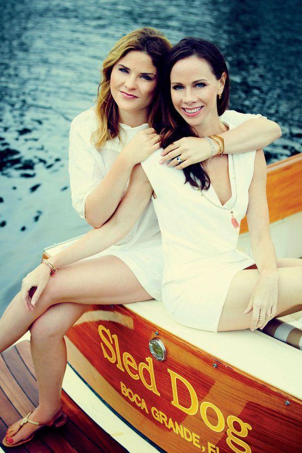 Jenna Bush Hager and Barbara Bush: The SL Photoshoot
