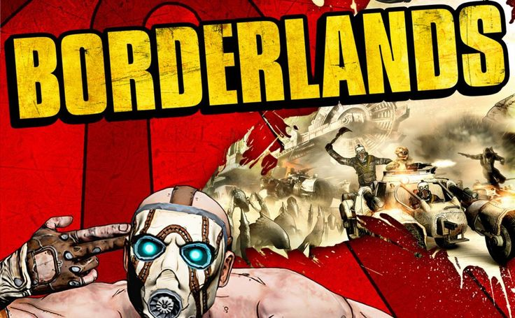 Borderlands Xbox 360 HD Wallpaper
