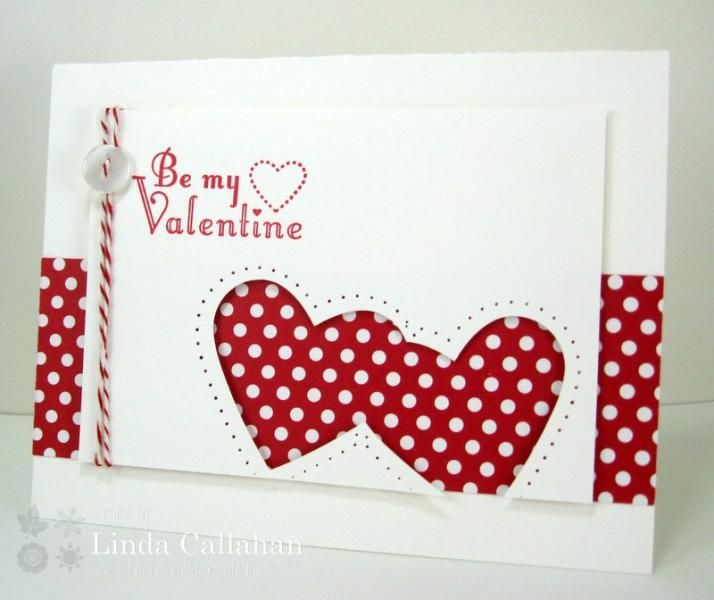 Be My Valentine! by abbysmom2198 - Cards and Paper Crafts at Splitcoaststampers