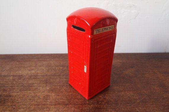 Boîte d'épargne / / tirelire / / British par MonaBellsVintage