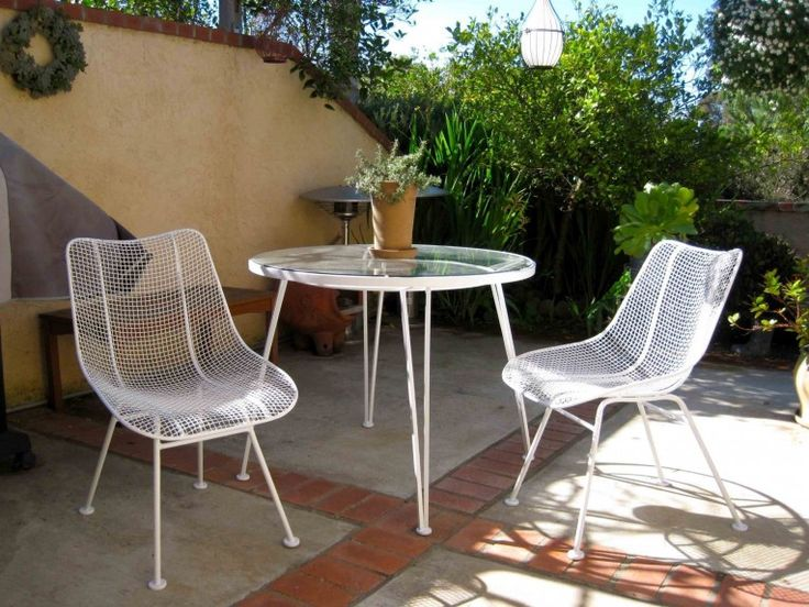 1000 Ideas About Iron Patio Furniture On Pinterest Wrought Iron Vintage Patio And Irons