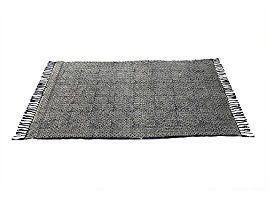 Tessuto a mano morbido cotone grande piano tappeto con fine print ornamentali 60 x 36 pollici tradizionali casa design soggiorno camera da letto tappeti decor