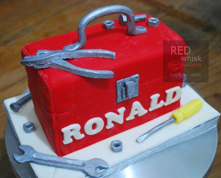 Cake Decorating Tool Box 13 Best 18Th Birthday Images On Pinterest  Tire Cake Birthdays