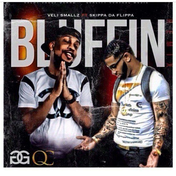 """Baltimore rapper Veli Smallz enlist QC The Label and Migo Gang artist Skippa Da Flippa for the official remix to his single """"Bluffin"""" produced by Damond Lamont. Stay tuned for more to come from Vel..."""