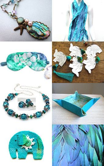 seas of aqua by Tina on Etsy--Pinned with TreasuryPin.com