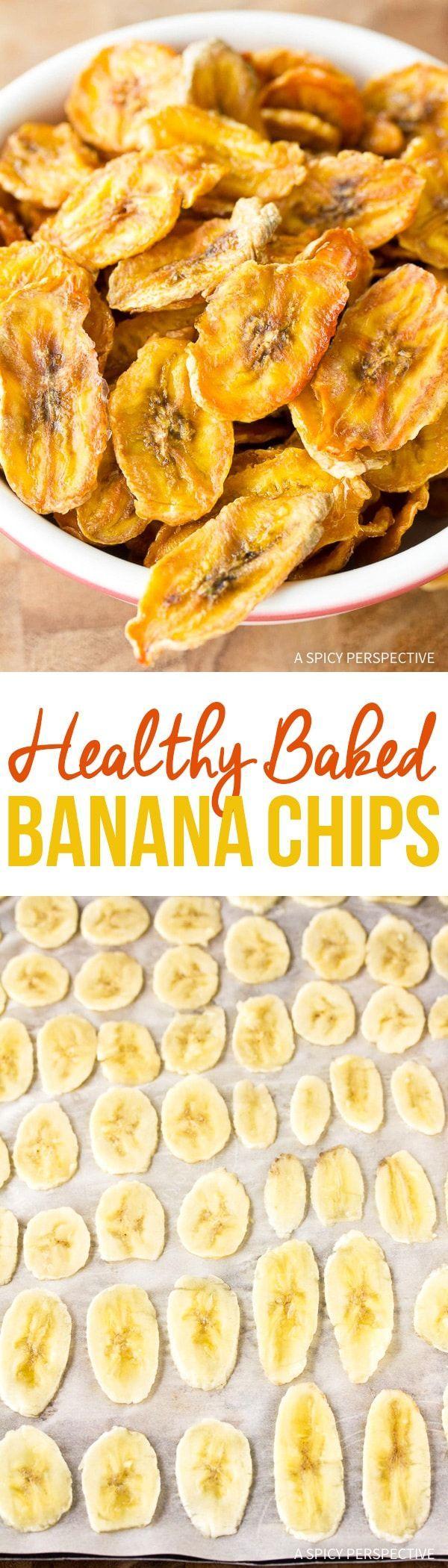 how to make healthy banana chips at home