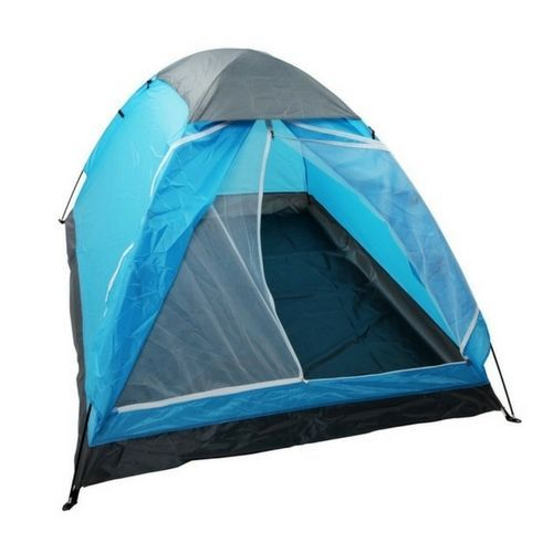 Blue Camping Tent 2 Person Hiking Lightweight Foldable Portable Travel Carry #BlueCampingTent