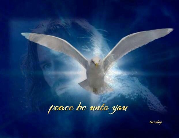 Peace be with you. . .