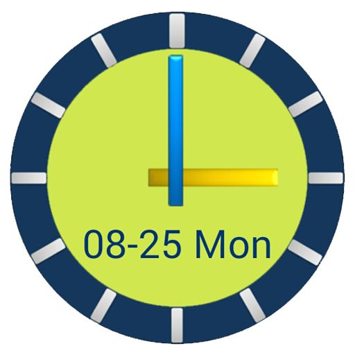 ClockView - Always on Clock ☆Simple & Easy Timer Clock☆ ☆Time check without pressing the button☆ ☆Home screen clock & Popup calendar☆ ☆Customizable Options (Size, Color, Fonts, Wallpaper ...)☆
