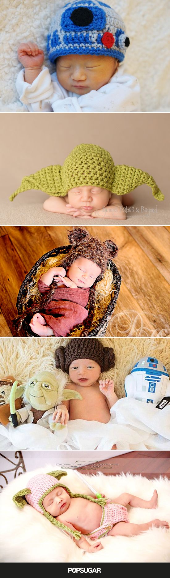 The Force Is Strong With These Adorable Crocheted Star Wars Items For Babies