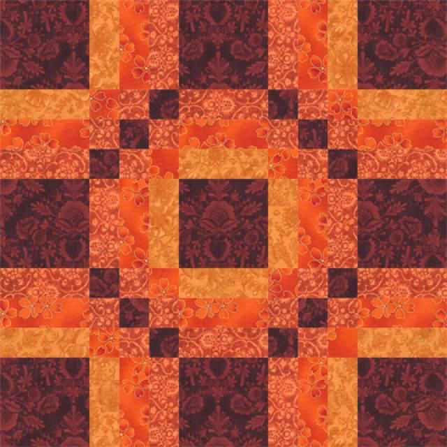 "Give One of My Five-Patch Quilt Block Patterns a Try: 15"" Album Quilt Block Pattern"