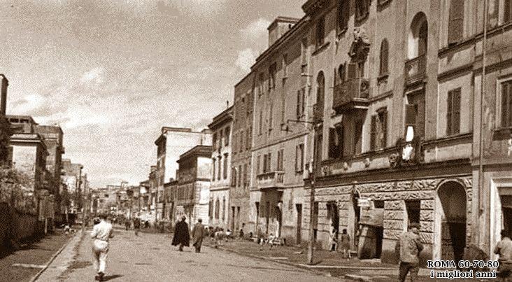 Via del Pigneto 1946