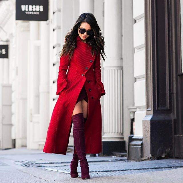 Marching in red 💃 #ontheblog
