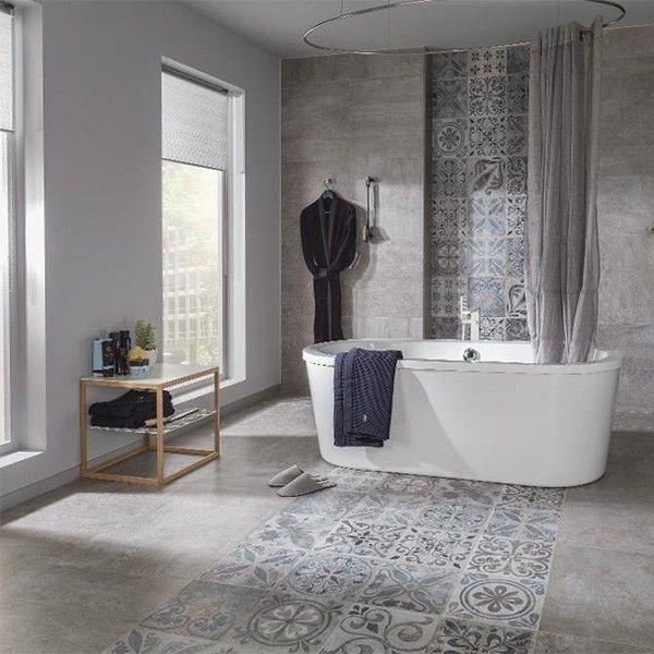 Porcelanosa Antique Silver 59.6 x 59.6cm | Tiles and Bathrooms Online