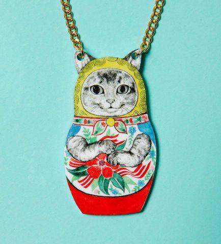 necklace designed with Yuko Higuchi