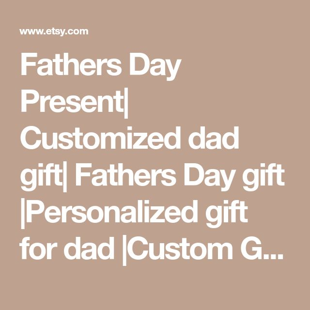Fathers Day Present| Customized dad gift| Fathers Day gift |Personalized gift for dad |Custom Gift for dad | 10x5 |Fathers day picture frame