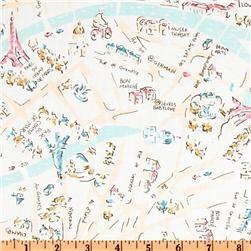 1000 Images About Paris Print Fabrics On Pinterest