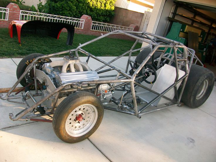 Drag Race Car Fabrication Parts