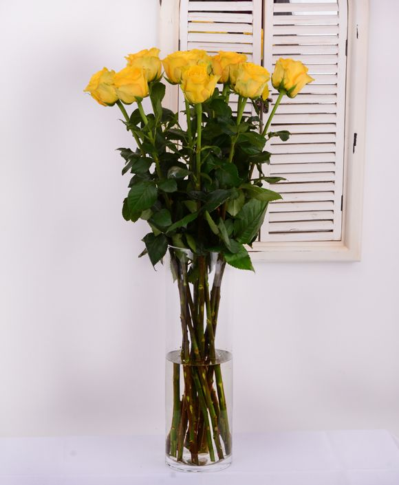 Yellow roses #roses #flowersdelivery #gift #suprise #birthday #kvetyexpres #Slovakia