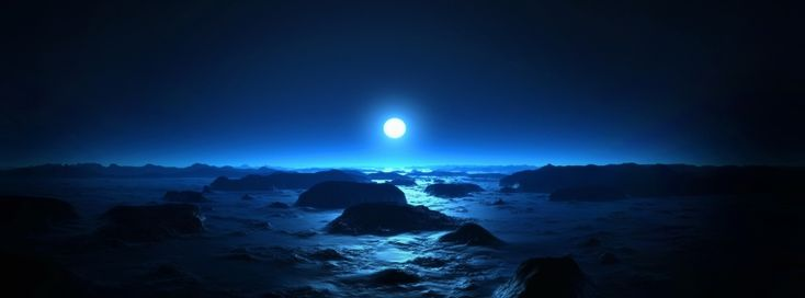 Moonline Sea View Timeline Cover - Facebook timeline covers maker