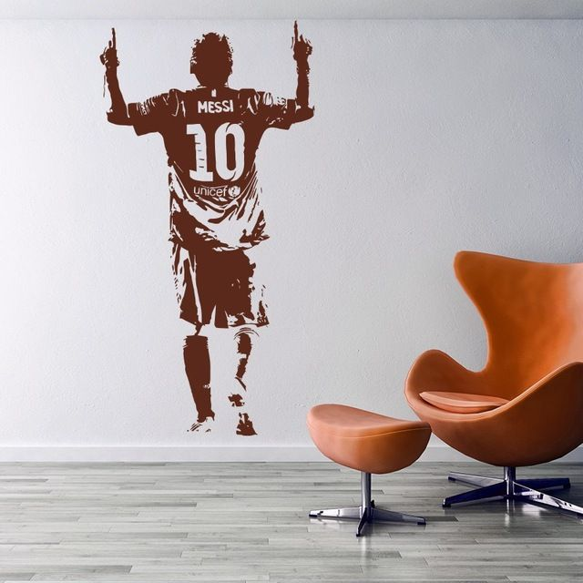 ==> [Free Shipping] Buy Best New arrival Free Shipping Home Decor Sports footballer wall stickers PVC Vinyl Art Mural Football Cristiano Ronaldo Online with LOWEST Price   32803233152