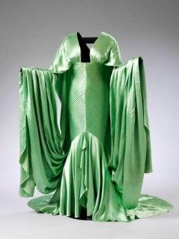 "Dress worn by Elizabeth Taylor in ""Cleopatra"" (1963)."