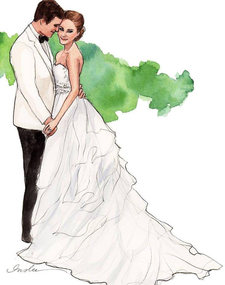 Свадебные картинки рисунки, прикольная
