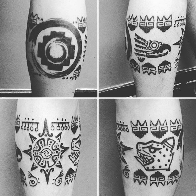 Tatuagem Inca Azteca Maia Loca do Gabriel que acabei de finalizar. A primeira do ano não poderia ser simples né! Vem 2016!!!! #wotantattoo #omelhorestudiodacidade #leovalquilha #tattoo #tatuaje #tatuagem #tattoage #tatuaggio #tattoo2me #tatuadoresbrasileiros #tattooart #tattoobrasil #electricink #everlastcolors #usoelectricink #ink #inked #tatuadoresdobrasil #inca #azteca #maia #tribal #meteçaodeloco #tattoo_clube