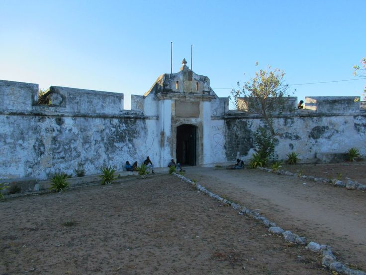 The star-shaped Forte de São João Baptista (1791) defended Ibo Island, Mozambique, against pirate attacks from Reunion and Madagascar. Prior to independence in 1975 political prisoners were held here.