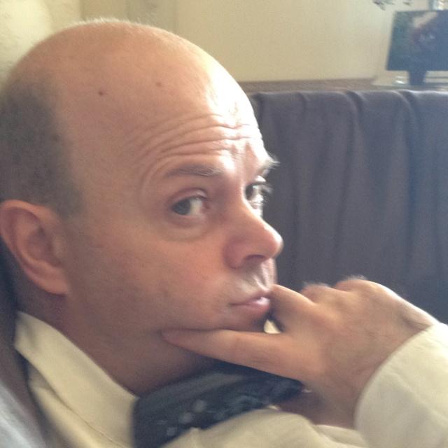 Matthew in a pensive mood.