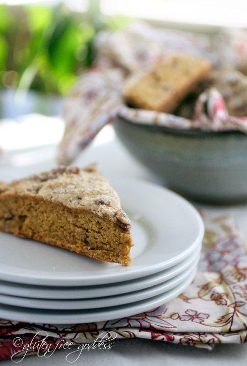 Gluten free Butternut Pecan Scones | Breaking Bread | Pinterest