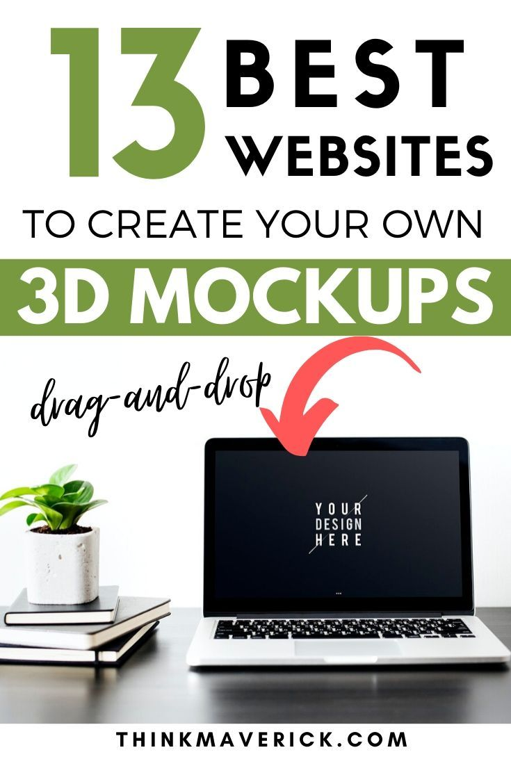 13 Best Free Online Tools To Create 3d Mockups In Seconds No Photoshop Needed Thinkmaverick My Personal Journey Through Entrepreneurship Create Business Cards Cool Websites Instagram Marketing Tips