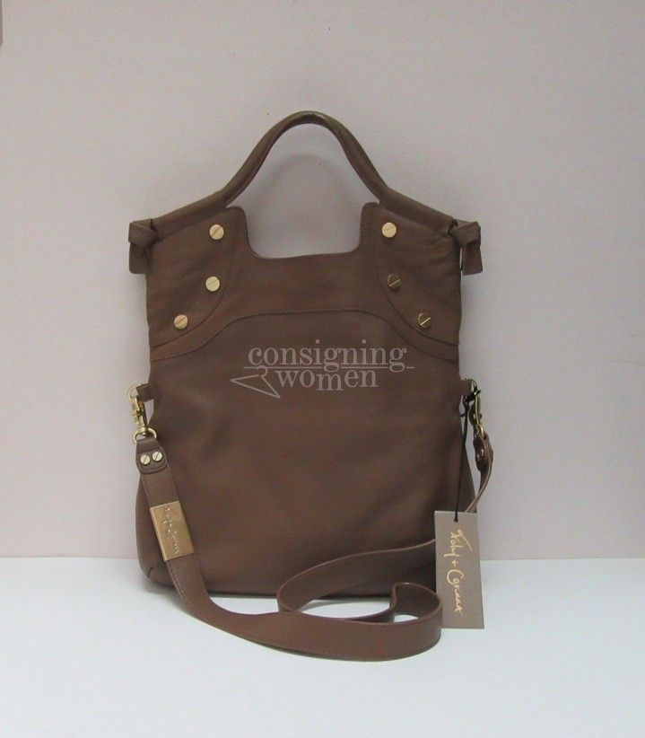 Foley Corinna Truffle Lady City tote. New with tags.