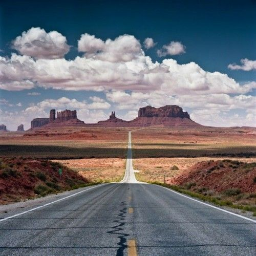 On the way to monument Valley...