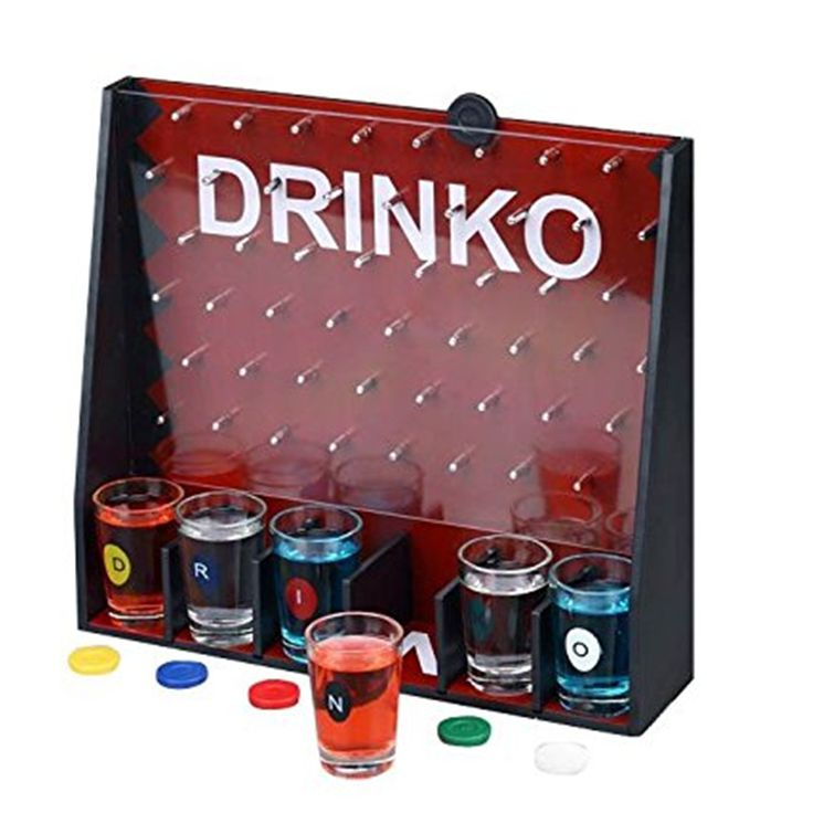 GoGifts Drinko Shot Drinking Party Game Get Together Fun Entertainment Board Game #Affiliate