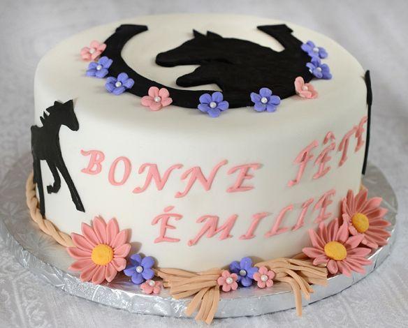 17 meilleures id es propos de cheval fondant sur pinterest artisanat base d 39 argile - Decoration gateau cheval ...