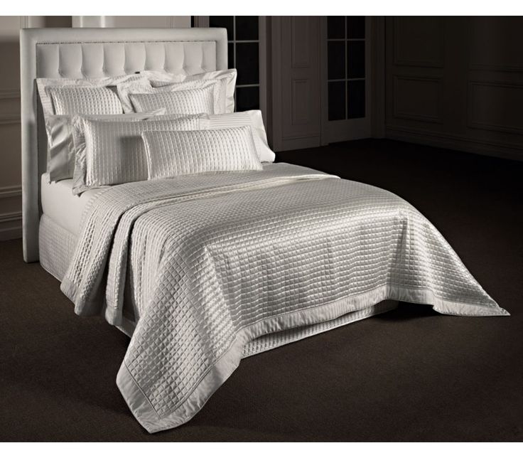 39 Best Images About White Bedspreads And Bed Linen On