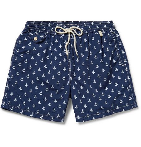 Polo Ralph LaurenMid-Length Printed Swim Shorts