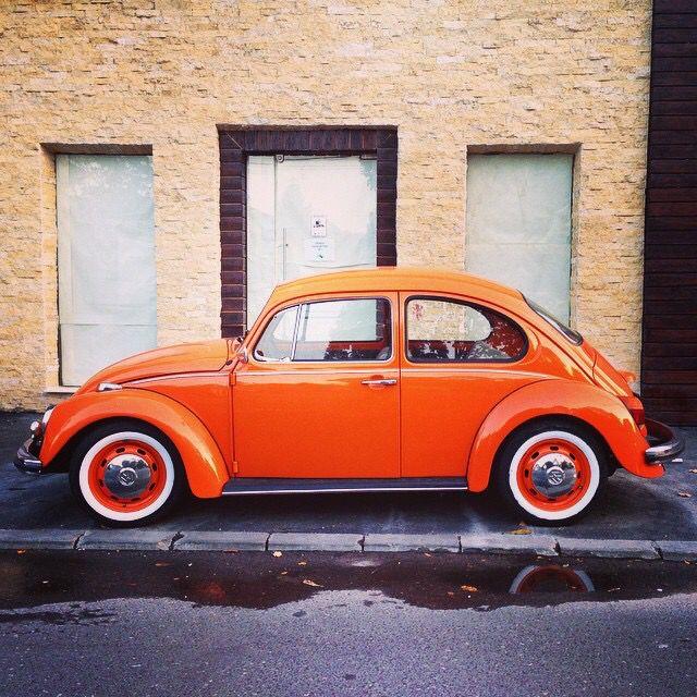 VW Beetle/Käfer/Type 1 Metallic Orange