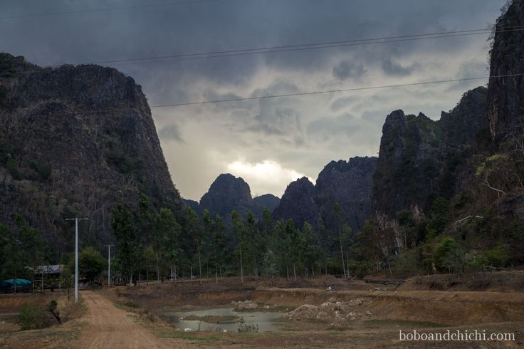 Exploring Thakhek Laos, One Cave at a Time - Heading-home-in-the-storm