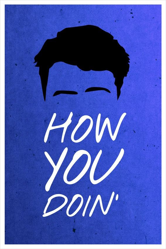 Minimalist 'Friends' Posters Couldn't Be Any More Quotable