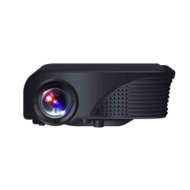 S320 LCD Projector 1800 Lumens 800 x 600 Pixels HDMI VGA Built-in Speaker Home Theater