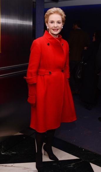 Fashion Designer Carolina Herrera