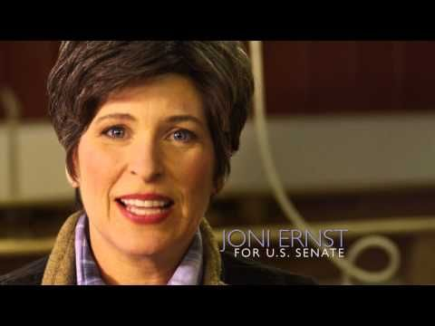 Joni grew up castrating hogs on an Iowa farm, so in Washington, she'll know how to cut pork!