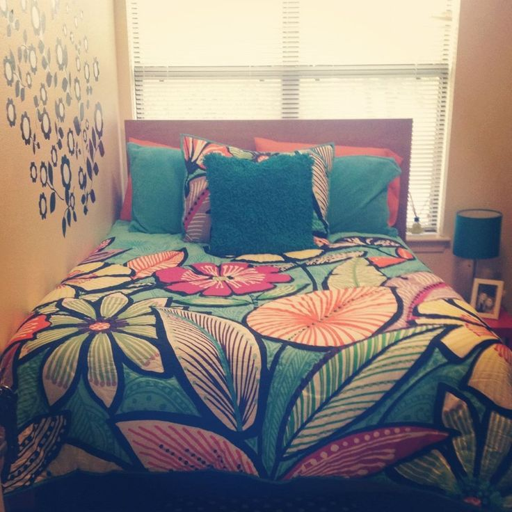 Colorful Bedding Brings Your Dull College Dorm Room To Life And Adds A  Personal Touch.