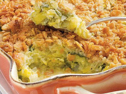 Make it just like mom's with this easy squash casserole recipe. A cracker crumb top and a drizzle of butter are sure to make this a crowd favorite.